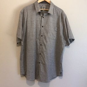 Men's cotton button down shirt. Like new.